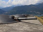 Festung Montecchio bei Colico am Comer See - Lago di Como