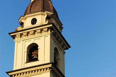Campanario. Chiesa di San Carlo