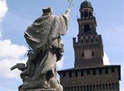 Milano Castello Sforzesco - Parco Sempione - Milano