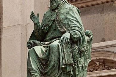 Statua Sisto V