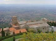 La panorámica Fortaleza Medicea - Arezzo