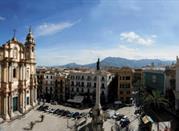 Die Domenikus-Kirche - Palermo