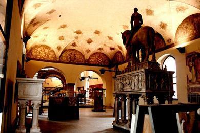 Sala della Cancelleria Nel Castello Sforzesco