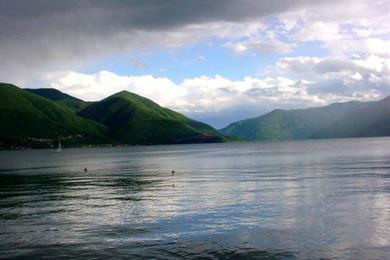 Lago Maggiore visto da Ascona