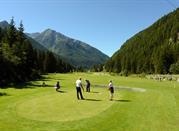 In Valle D´Aosta gibt es viele Möglichkeiten Golf zu spielen -