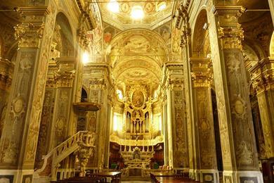 Interno Chiesa di San Biagio