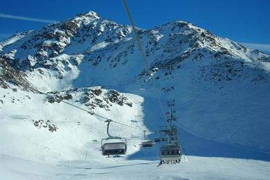 Centro di sci a Madesimo