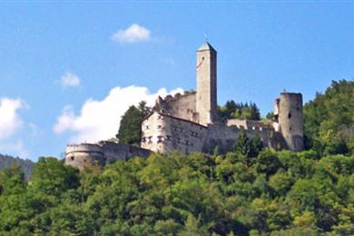 Castel Telvana di Borgo Valsugana e le sue torri