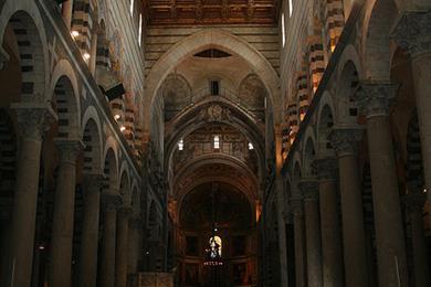 En el interior de la Catedral