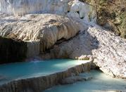 Bagni San Filippo – kąpiel w bieli term - Bagni di San Filippo
