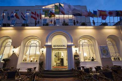 Fachada, Grand Hotel Quisisana