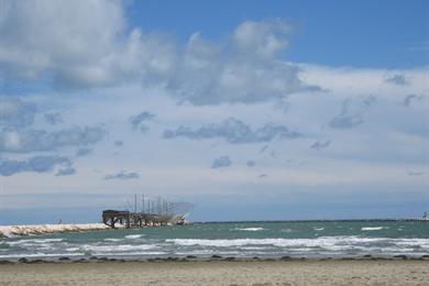 Il mare e la spiaggia