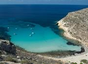 Panoramic view of Cala Chick