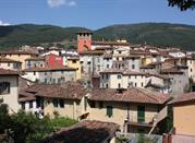 Loro Ciuffenna in der italienischen Provinz Arezzo - Loro Ciuffenna