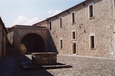 Cortile interno del Castello
