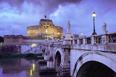 Castel Sant'Angelo - night lights