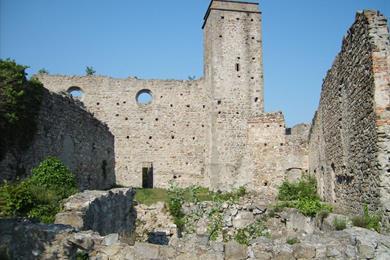 Ruderi del Monastero degli Olivetani sul Monte Venda