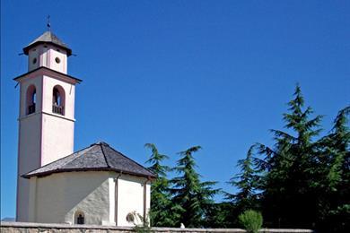 La parrocchiale di Santa Brigida