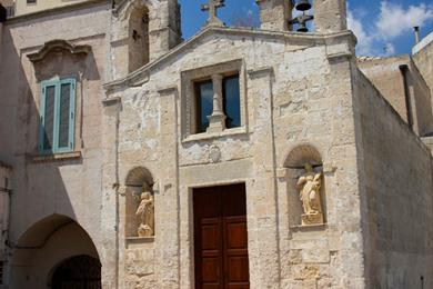 Piccola chiesa di Matera