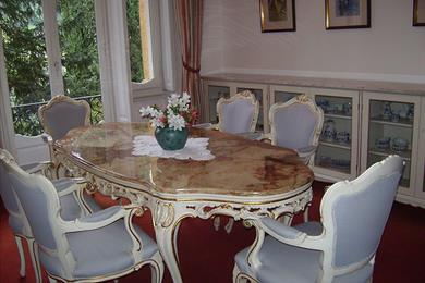 Interior of the residence