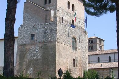 Abbazia di Farfa Torre