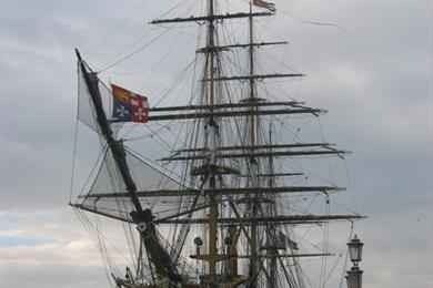 La nave di Amerigo Vespucci