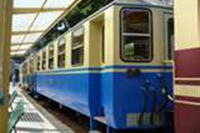 Il trenino di Genova