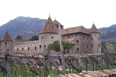 Veduta di Castel Mareccio
