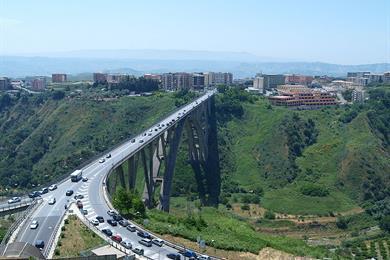 Foto del viadotto di catanzaro