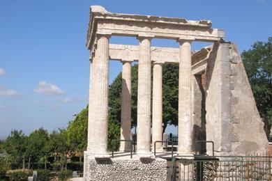 Il Tempio di Ercole a Cori