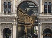 Galleria Vittorio Emanuele II, Milaan. - Milano