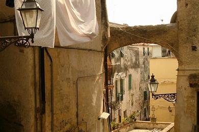 Uno dei molteplici vicoli della città vecchia