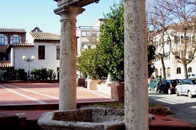 Il Pozzo dello Spedale in piazza San Francesco