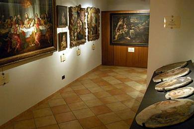 Dentro del Museo Canonicale