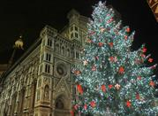 Christmas Lights and Gifts on the Florence Street - Firenze