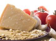 Parmesan-Herstellung -