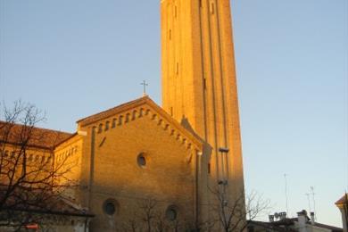 Il retro della Chiesa di S.Francesco