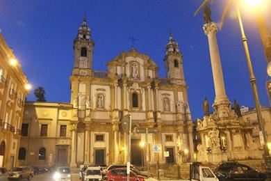 Fachada, Iglesia de San Domenico