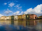 Lungarni: bonito punto de encuentro  - Pisa