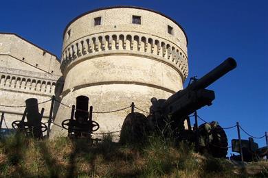 La Rocca con i tre cannoni