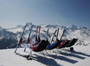 Hit the slopes and go skiing or hiking in Val di Fassa , north Italy - Val di Fassa