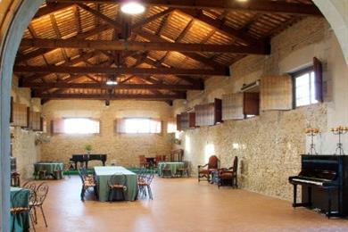La sala de estar, Baglio Fontanasalsa