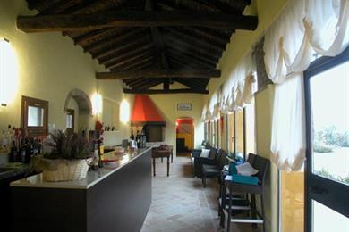 Il Bar della dimora storica Corte Paola