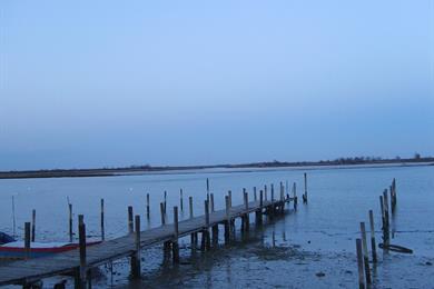 Vista della laguna