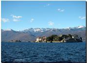 Lago Maggiore, der See an der Grenze zu der Schweiz - Lago Maggiore