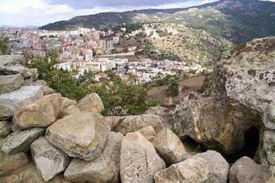 Monte Ortobene visto dal Nuraghe Tanca Manna