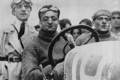 Enzo Ferrari, Tazio Nuovolari e Piero Ferrari
