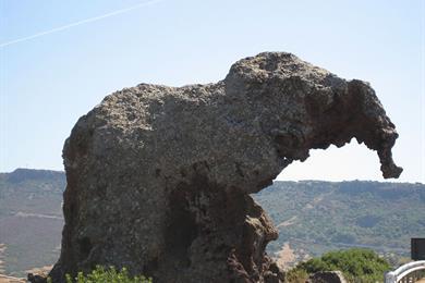 Der Fels Elefanten