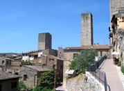 San Gimignano, vestige du Moyen-Age - San Gimignano