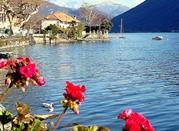 Порлецца - берег альпийского озера Люгано - Porlezza